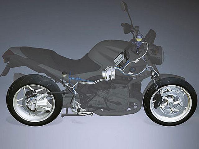 Control de tracción para motos de serie