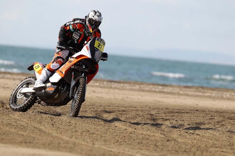 Equipos KTM oficiales para el Dakar 2012