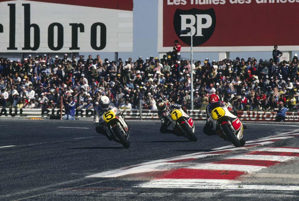 Las Suzuki oficiales del Mundial de 500 y MotoGP. Fotos