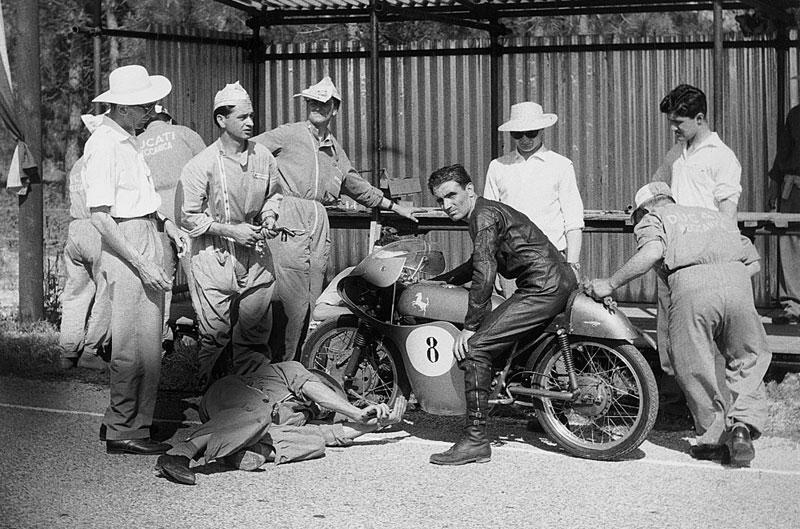 Ducati a finales de los 50