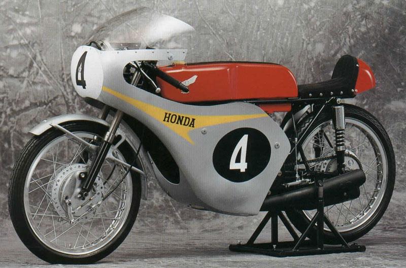 Honda RC146, una cuatro tiempos tetracilíndrica