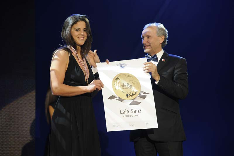 Gala de la FIM 2011, entrega de premios