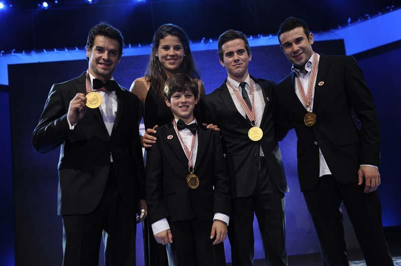 Todos los pilotos españoles campeones del mundo 2011