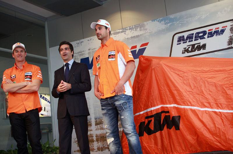 Galería de fotos de la presentación del equipo KTM del Dakar de Marc Coma