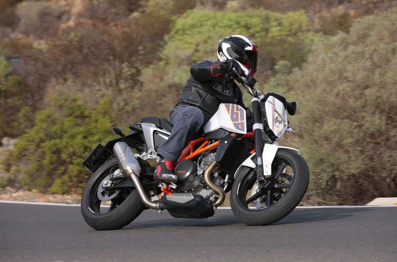 Galería de fotos de la KTM 690 Duke