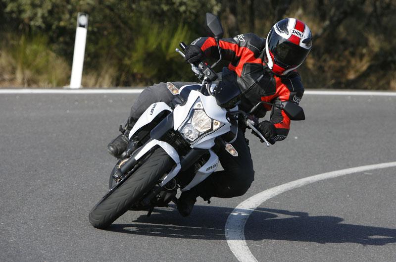 Galería de fotos de la Kawasaki ER-6n