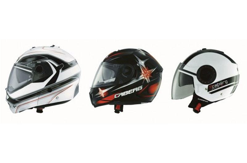 Colección cascos Caberg
