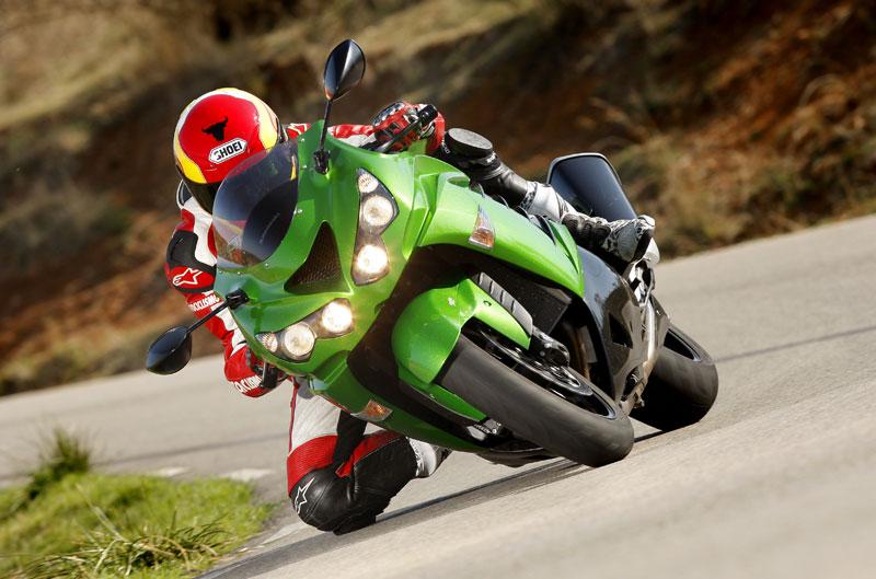 Galería de fotos de la Kawasaki ZZR1400