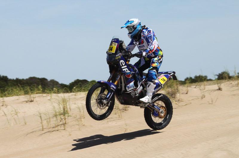 Dakar 2012. Etapa 1. David Casteu