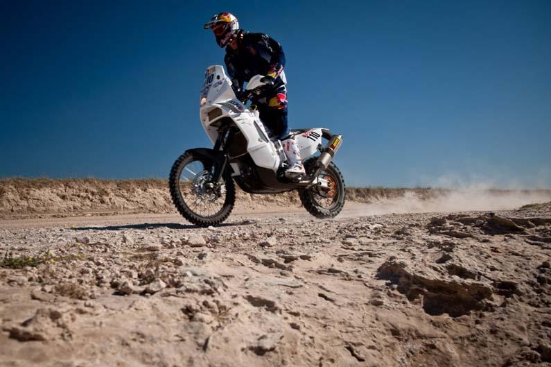 Dakar 2012. Etapa 1. Chris Birch