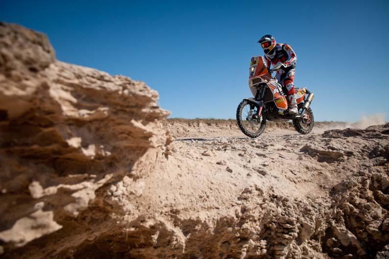 Dakar 2012. Etapa 1. Felipe Zanol