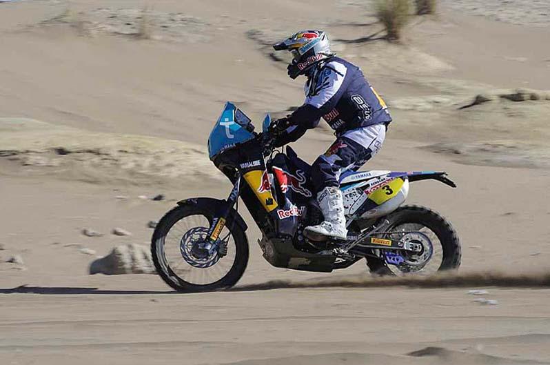 Dakar 2012. Etapa 1. Helder Rodrigues