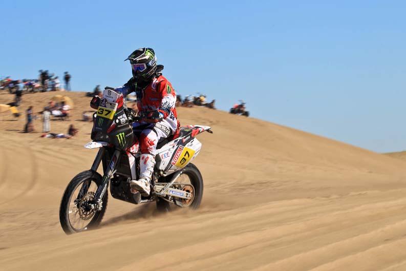Dakar 2012. Etapa 1. Ike Klaumann