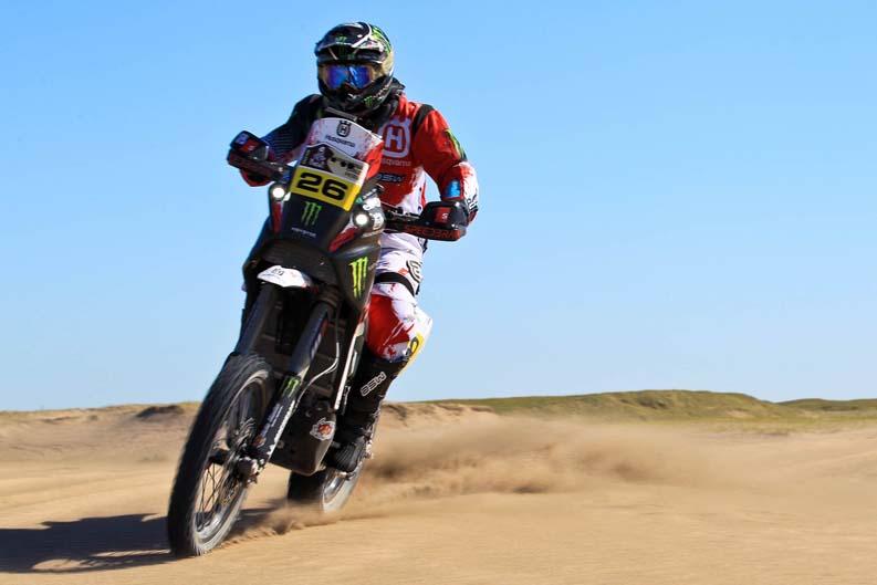 Dakar 2012. Etapa 1. Joan Barreda