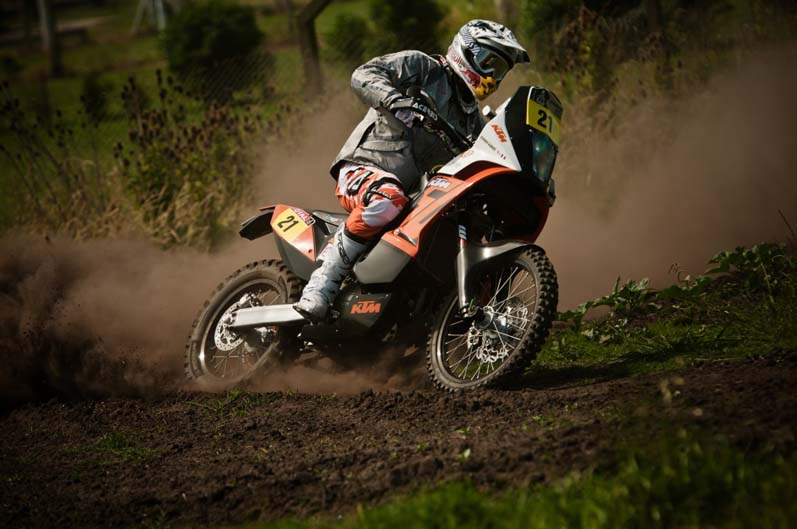 Dakar 2012. Etapa 1. Johnny Aubert