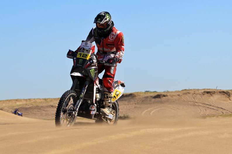 Dakar 2012. Etapa 1. Jose Manuel Pellicer