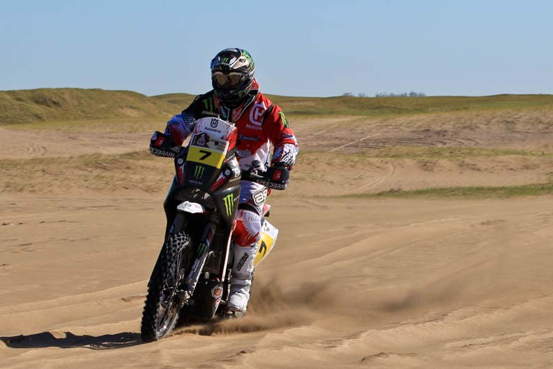 Dakar 2012. Etapa 1. Paulo Goncalves