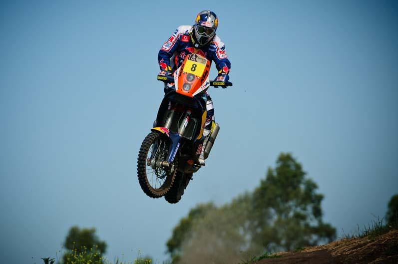 Dakar 2012. Etapa 1. Ruben Faria