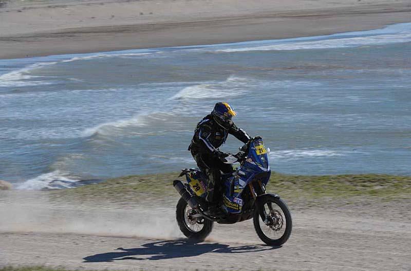 Dakar 2012. Etapa 1. Thomas Berglund