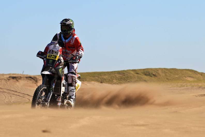 Dakar 2012. Etapa 1. Ze Helio