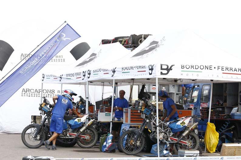 Dakar 2012. Etapa 4. Bordone Ferrari