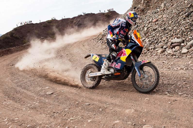 Dakar 2012. Etapa 4. Cyril Despres