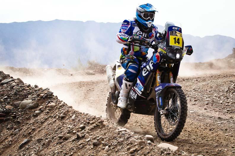 Dakar 2012. Etapa 4. David Casteu