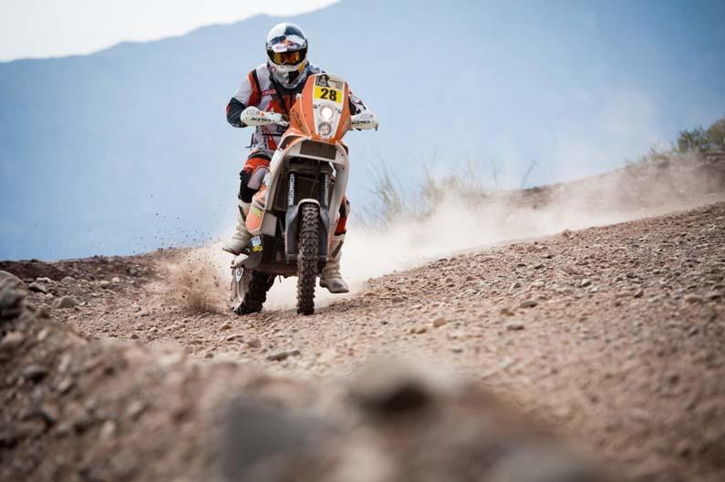 Dakar 2012. Etapa 4. Felipe Zanol
