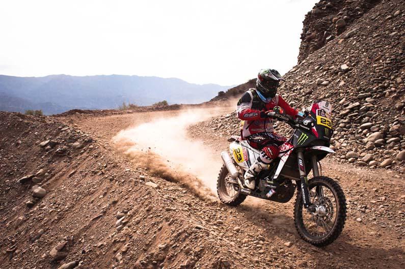 Dakar 2012. Etapa 4. Joan Barreda