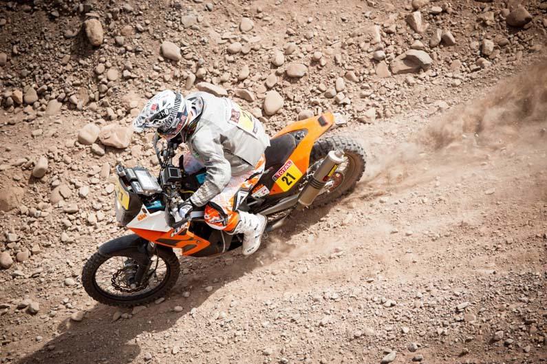 Dakar 2012. Etapa 4. Johnny Aubert