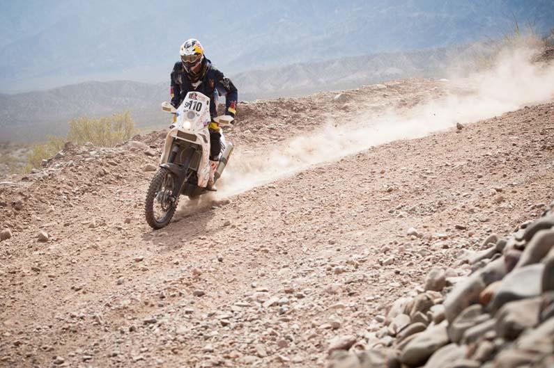 Dakar 2012. Etapa 4.