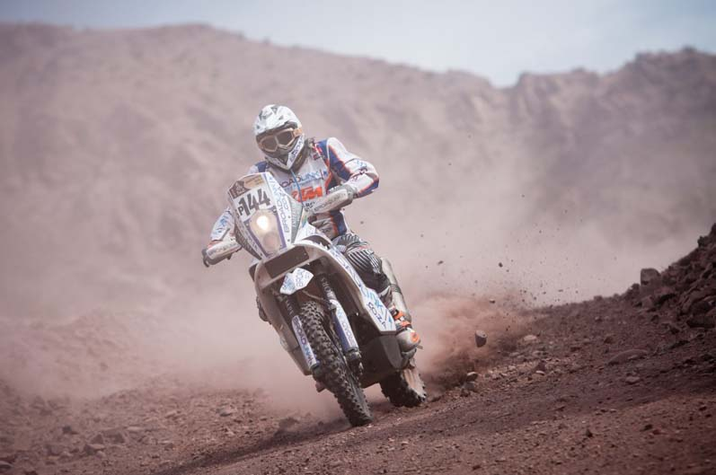 Dakar 2012. Etapa 4
