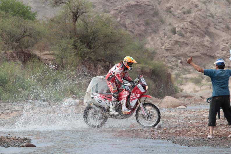 Dakar 2012. Etapa 4. Laia Sanz