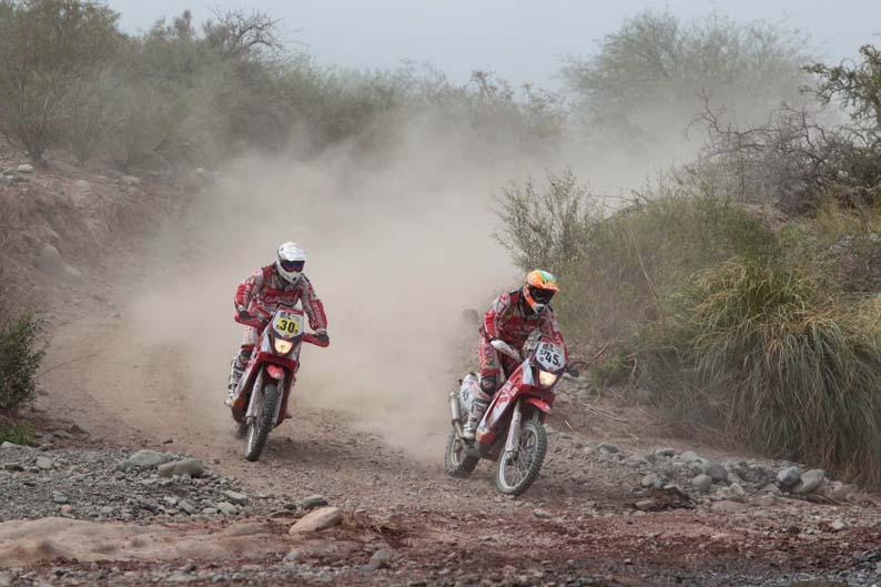Dakar 2012. Etapa 4. Laia Sanz y Marc Guasch
