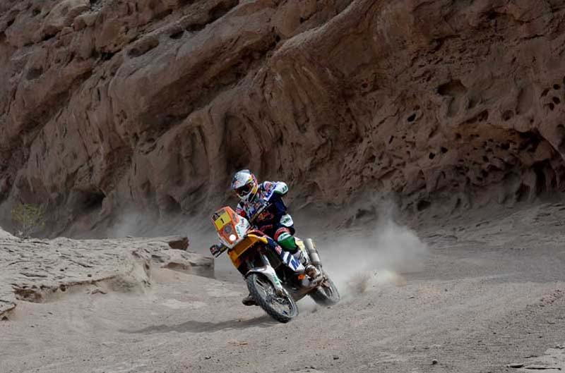 Dakar 2012. Etapa 4. Marc Coma