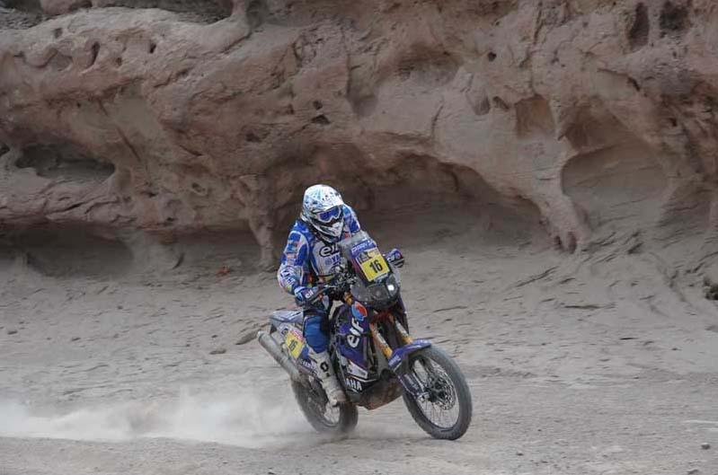 Dakar 2012. Etapa 4. Olivier Pain