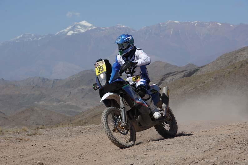 Dakar 2012. Etapa 4. Paolo Ceci