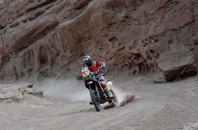 Dakar 2012. Etapa 4. Paulo Goncalves