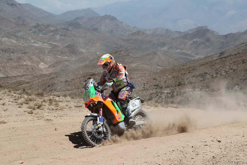 Dakar 2012. Etapa 4. Pedro Penate
