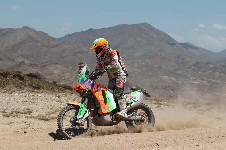 Dakar 2012. Etapa 4. Rosa Romero