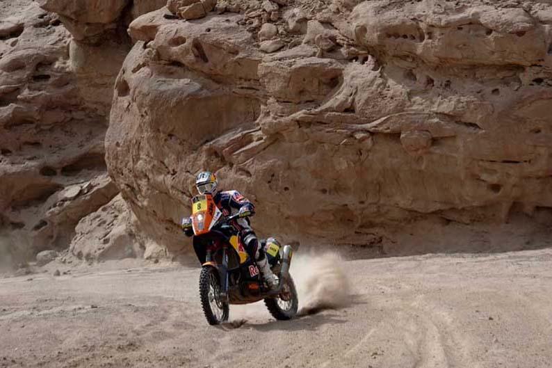 Dakar 2012. Etapa 4. Ruben Faria
