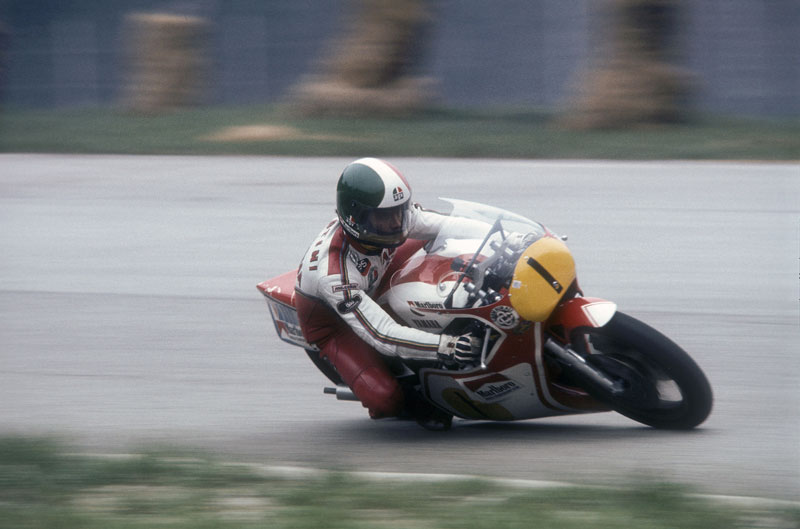 Agostini y su Yamaha 500