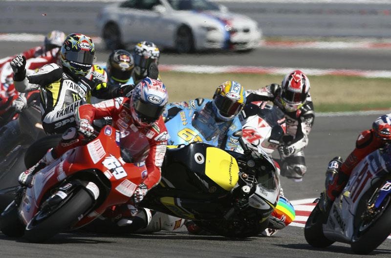 Galería de fotos de los tres años de monogoma Bridgestone en MotoGP