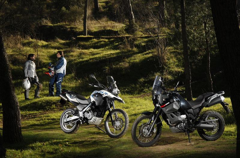 BMW G 650 GS Sertao y Yamaha XT 600Z Tenere