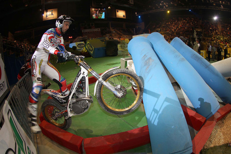 Albert Cabestany, trial indoor de Marsella