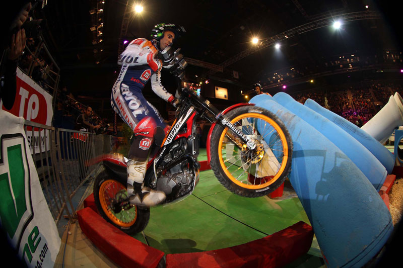 Toni Bou, trial indoor de Marsella
