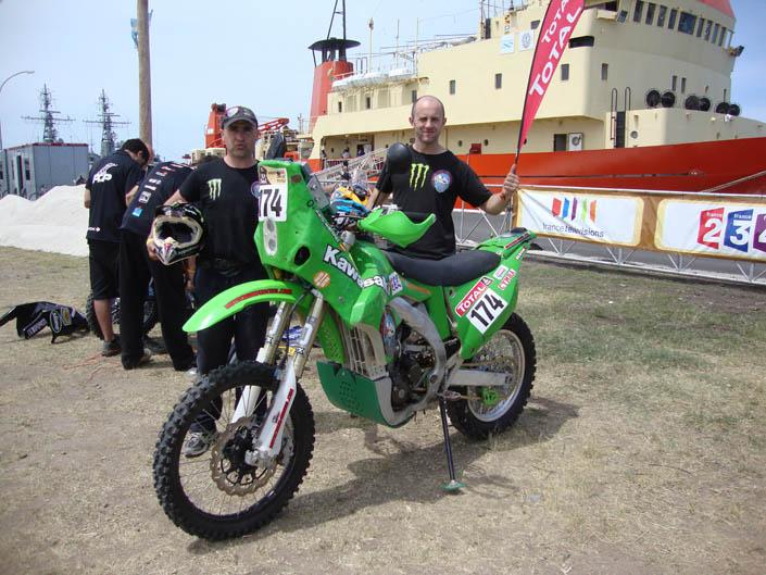 Paco Martínez, héroe en el Dakar 2012