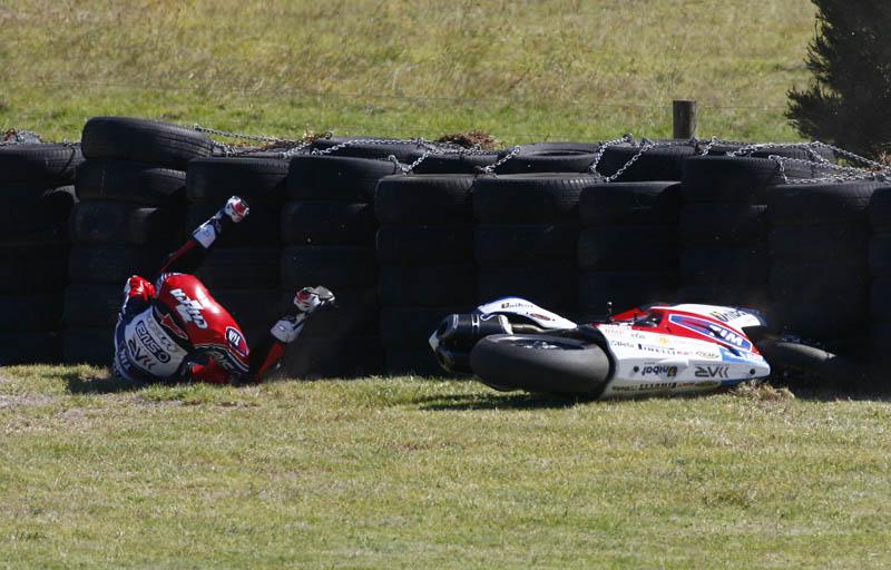 Primera sesión entrenamientos en Phillip Island 2012