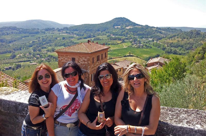 De Elda a la Toscana
