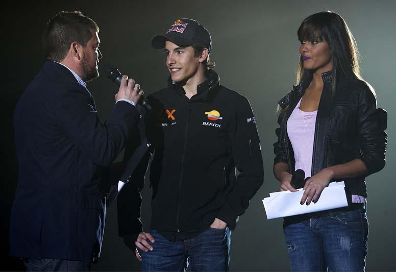 Presentación Honda Repsol MotoGP
